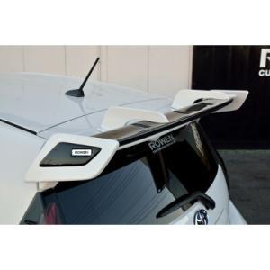 ROWEN ECO SPO Edition RR リアウィング FRP製 塗り分け塗装済 トヨタ アクア G's FF NHP10用 1T014R00##|yatoh