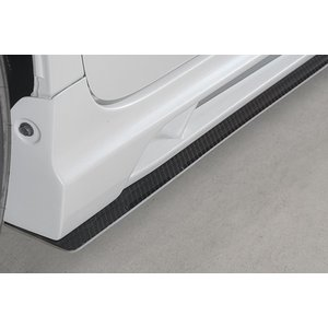 ROWEN ECO SPO Edition RR サイドアンダーフラップ FRP製 素地 トヨタ プリウスα G's FF ZVW40W用 1T005J30|yatoh
