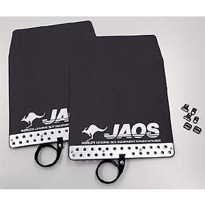 JAOS マッドガード III フロント&リアセット ブラック ミツビシ デリカ D:5 CV1W用 B622304F/B622304R yatoh