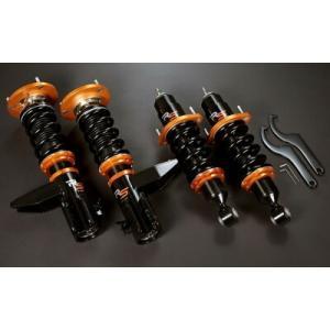 【送料無料】J's RACING ブラックシリーズダンパーキット RS ホンダ シビック タイプR EP3用 フロントキャンバー調整式ピロアッパー DBS-P3-RS yatoh