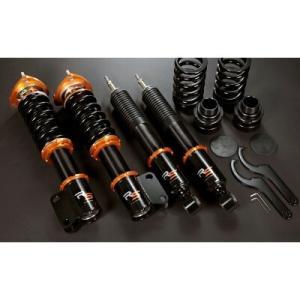 J's RACING ブラックシリーズダンパーキット RS ホンダ シビック タイプR FD2用 フロントキャンバー調整式ピロアッパー DBS-D2-RS|yatoh