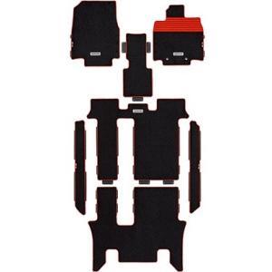 MUGEN スポーツ マット ブラック×レッド ホンダ ステップワゴン G 6:4分割タンブルシート FF RP1用 08P15-XNB-K1S0-RD|yatoh