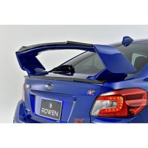 ROWEN PREMIUM Edition トランクスポイラー FRP製 素地 スバル WRX STI 4WD 前期 VAB用 1S006T00|yatoh