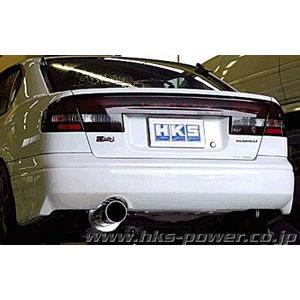 HKS サイレントハイパワー スバル レガシィ B4 4WD BE5用 リアピースのみ 31019-AF017|yatoh