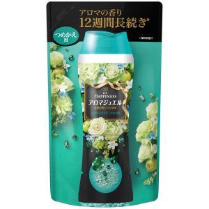 レノア ハピネス 香り付け専用ビーズ アロマジュエル エメラルドブリーズの香り 詰め替え 455mL|yatownart