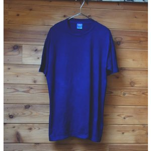 藍染無地半袖Tシャツ・厚手|yatsugatakestyle