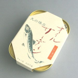 竹中缶詰 天の橋立 オイルサーディン(いわし油づけ) 105g