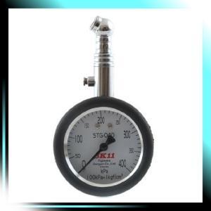 アナログタイプ タイヤゲージ400K アナログステンレス 計測範囲|yaya-ayy14