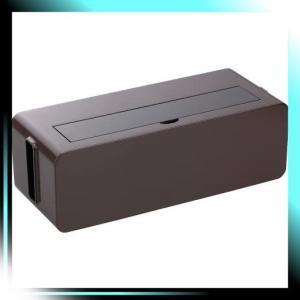 イノマタ化学 テーブルタップボックス ブラウン Lサイズ|yaya-ayy14