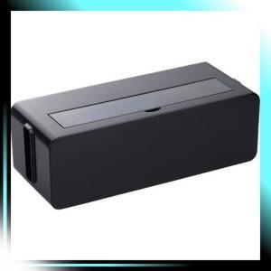 イノマタ化学 テーブルタップボックス ブラック Lサイズ|yaya-ayy14