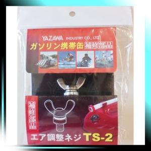 YAZAWA 補修部品 クウキチョウセイネジ YGヨウ 品番 TS2|yaya-ayy14