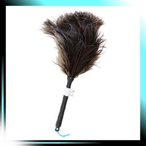 人による手造り 毛ばたき オーストリッチ ダスター 全長約40cmM-|yaya-ayy14
