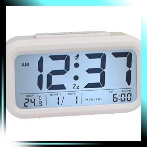 目覚まし時計 置き時計 デジタル おしゃれ 大音量 液晶画面 大画面|yaya-ayy14