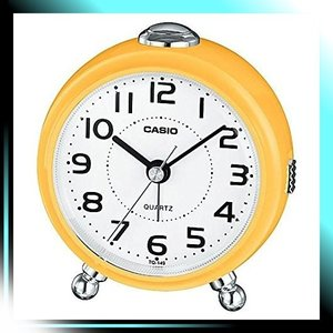 TQ-149-9JF 置き時計・掛け時計 イエロー 9.0×8.4×5.5cm サイ|yaya-ayy14