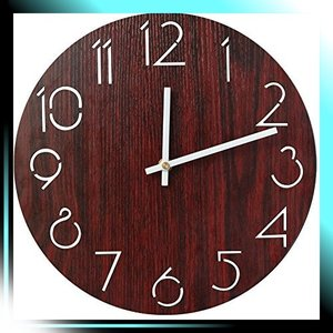 掛け時計 木製時計 アナログ おしゃれ ナチュラル 壁掛け時計 可愛い yaya-ayy14