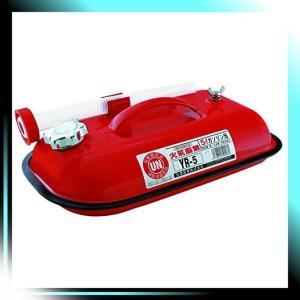 YAZAWA ガソリン携帯缶 横型タイプ 5L 消防法適合品 YR5|yaya-ayy14
