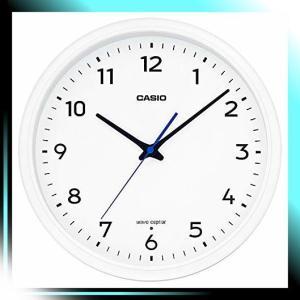 掛け時計 ホワイト 直径31.1cm 電波時計 IQ-1013J-7JF yaya-ayy14