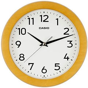 掛け時計 茶木 直径21cm IQ-134-5JF yaya-ayy14