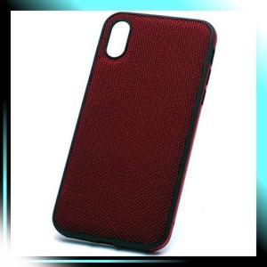 ナイロンレッド ディーフ Hybrid Case Etanze for iPhone XS エ