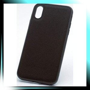 ナイロンブラック ディーフ Hybrid Case Etanze for iPhone XR