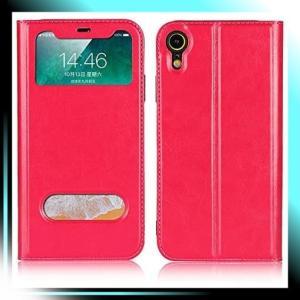 iphone XR/ローズレッド-02 iphone XR ケース iphone XR 手帳型