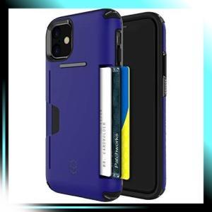 iPhone 11/6.1インチ/ブルー PATCHWORKS LEVEL WALLET iPhone 11|yaya-ayy14