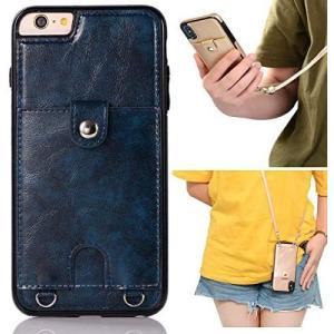 11-iPhone 6/iPhone 6S/首かけ 斜めがけ-ブルー iPhone 6/iPhone|yaya-ayy14