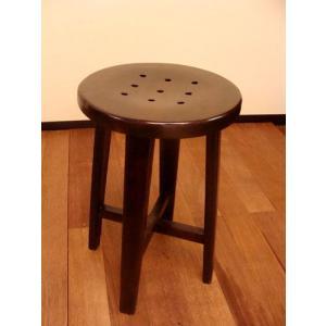 アジアン家具 バリ ♪チーク ブトン スツール♪ スツール 木製 チェア イス 子供 椅子 花台 エスニック yayapapus-y