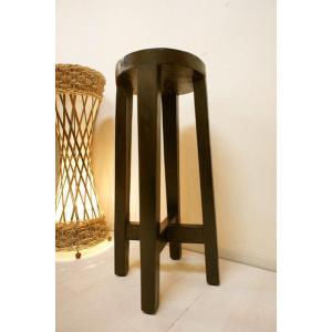 アジアン家具 バリ ♪キッチンハイスツール(DSM)♪ ハイスツール 木製 チーク材 エスニック yayapapus-y