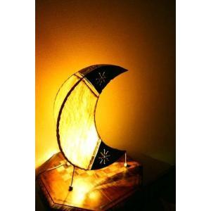 【11月下旬入荷予定】間接照明 スタンドライト アイアンとウッドスキンの月明かり(MLサイズ)♪ アジアン照明 バリ おしゃれ フロアスタンド エスニック|yayapapus-y