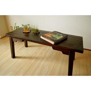 アジアン家具 バリ ♪ATNパパンベンチ(ワイド)♪ ベンチ 木製 チェア ロングスツール ローテーブル アンティーク 2人掛け チーク材 yayapapus-y