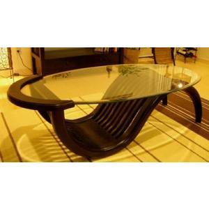【10月中旬入荷予定】アジアン家具 バリ ♪チルダーテーブルSB(Lサイズ)♪ テーブル ローテーブル 座卓 ガラス 木製 チーク エスニック yayapapus-y