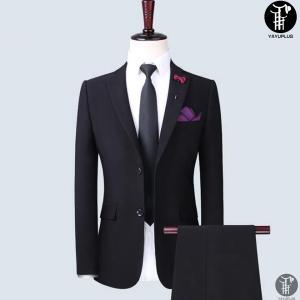 メンズ スーツ 上下セット 2つボタン 紳士服 フォーマル セレモニー ジャケット パンツ スラックス セットアップ テーラード 出張 就活 面接 通勤|yayushop