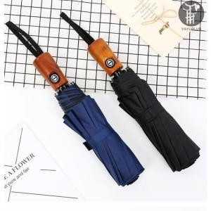 折りたたみ傘 晴雨傘 UVカット 3段折りたたみ 自動開閉 傘 遮光 遮熱 紫外線対策 耐風 日傘 雨傘 軽量 ワンタッチ メンズ 晴雨兼用 携帯用 無地 代引不可の画像