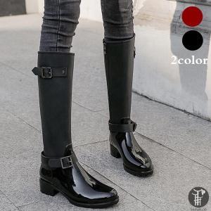 レインブーツ 雨靴 ブーツ 梅雨対策 レインシューズ 防水ブーツ ロング 女性用 レディース ロングブーツ 雨具 農作業 長靴 業用品|yayushop