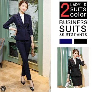 レディース パンツスーツ セレモニースーツ スカートスーツ セットアップ 上下セット ママスーツ フォーマル ビジネス オフィス|yayushop