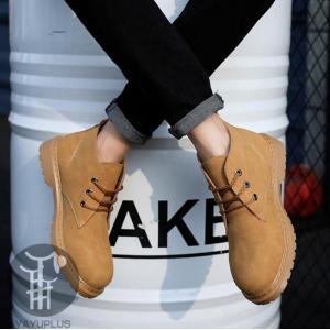 ブーツ メンズ ショートブーツ ワークブーツ アメカジ メンズブーツ メンズ靴 レースアップ カジュアルシューズ ビジネスシューズ 防寒 紳士靴|yayushop