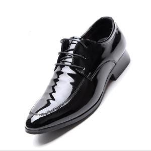 革靴 レースアップ 紳士靴 メンズシューズ 紐靴 ビジネスシューズ 結婚式 仕事用 ビジネス メンズ 新生活 フォーマルシューズ 靴 軽量 父の日 歩きやすい|yayushop