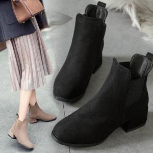 ショートブーツ ブーツ レディース 歩きやすい ブーツ 疲れにくい 美脚ブーツ シンプル レディースブーツ セレブ 秋冬 女性 yayushop