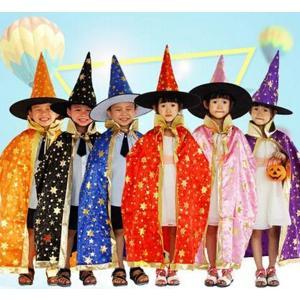 ハロウィン 悪魔マント コスチューム コスプレ 2点セット 帽子つき 仮装 子供用 マント デビル 悪魔 パーカ かわいい お化け パーカー 衣装 代引不可 yayushop