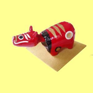 赤べこは、約1200年前の会津の伝説にもとづいて郷土産業振興のために作られた玩具です。 張子赤べこは...