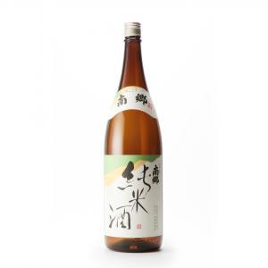 南郷 純米酒(1.8L) ふくしまプライド。体感キャンペーン(お酒)|yazawashuzo