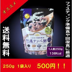 酵素玄米の黒テンペ粥(1袋入り)/税込みで送料込み 断食 健康食品 準備食 回復食 お粥 ファスティ...