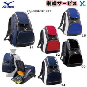 【1色刺繍サービス】ミズノ mizuno  バックパック  1FJD7020 一般 高校 中学