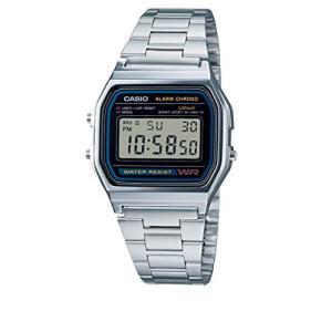 [カシオ] 腕時計 スタンダード A158WA-1JF シルバー|ybd
