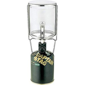 キャプテンスタッグ(CAPTAIN STAG) キャンプ 防災用 ガス ランタン ライト 照明 フィールド L 圧電点火装置付UF-8 ybd