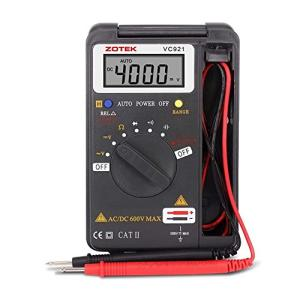 Miniデジタル・マルチメータ C-Timvasion LCDディスプレイ 電流 電圧 抵抗 周波数 導通測定テスター 自動車、家庭、|ybd