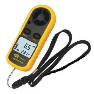 デジタル 風速計 簡単・手軽 風速計測 温度計搭載 軽量コンパクト ポケットアネモメーター(風速計&温度|ybd