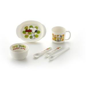 リッチェル Richell スヌーピー ベビー食器セット SY-1 ポリプロピレン ybd