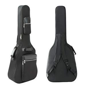 アコースティック ギター ギグバッグ 40-41インチ用 ギターケース 8mm スポンジ ギターソフトケース 楽器バッグ|ybd